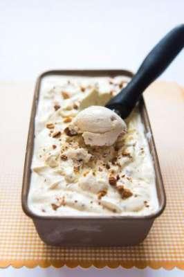 Almond Ice Cream Custard Recipe In Urdu
