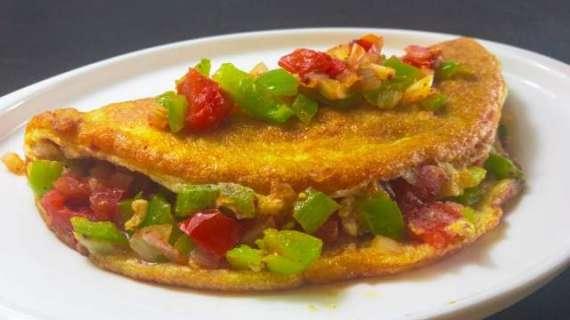 Fluffy Mexican Omelette Recipe In Urdu