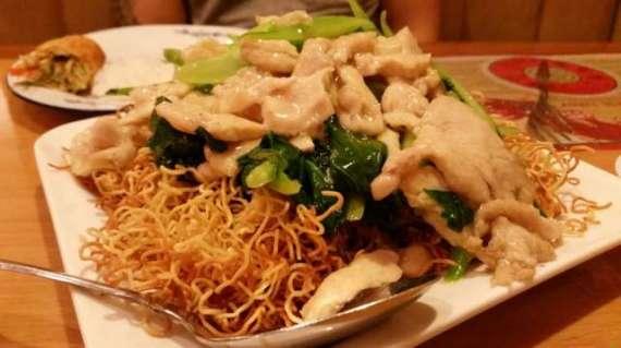 Crispy Noodles Bowls Recipe In Urdu