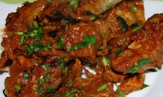 Changeezi Gosht Recipe In Urdu