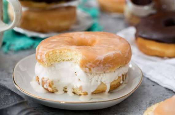 Cream Donut Recipe In Urdu
