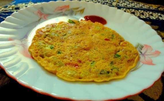 Pain Cake Omelette Recipe In Urdu