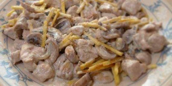 Chicken Stroganof Recipe In Urdu