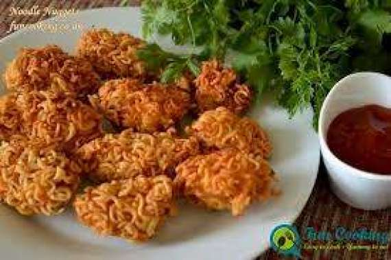 Noodles Nuggets Recipe In Urdu
