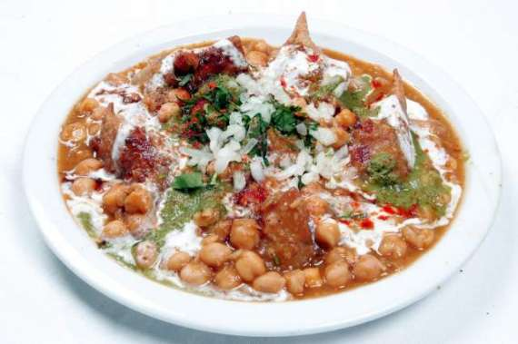 Lahori Samosa Chat Recipe In Urdu
