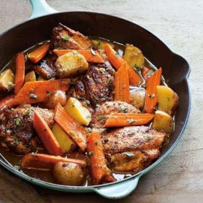 Carrot Chicken Recipe In Urdu