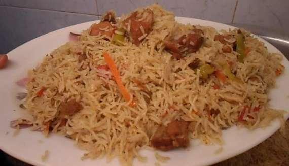 Murgh Ka Saada Pulao Recipe In Urdu