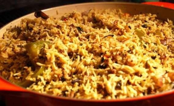Sabat Masoor Aur Qeemay Ki Biryani Recipe In Urdu