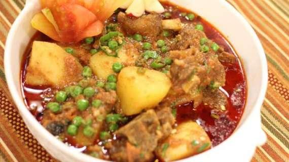 Alo Matar Gosht Special Recipe In Urdu