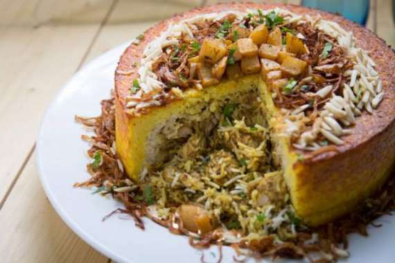 Biryani Cake Recipe In Urdu