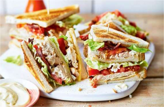 Chicken Club Sandwich Recipe In Urdu