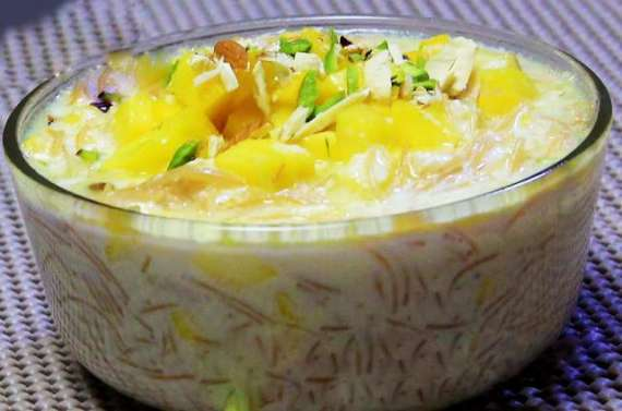 Mango Vermicelli Delight Recipe In Urdu