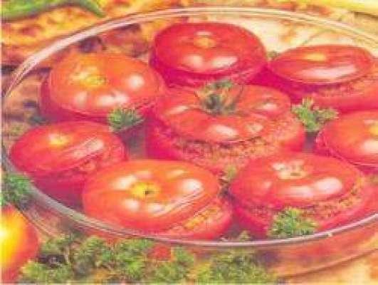Qeema Bhare Tomato Recipe In Urdu