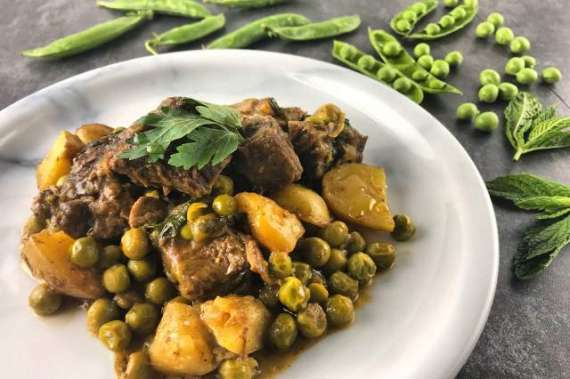 Aloo Matar Gosht Special Recipe In Urdu