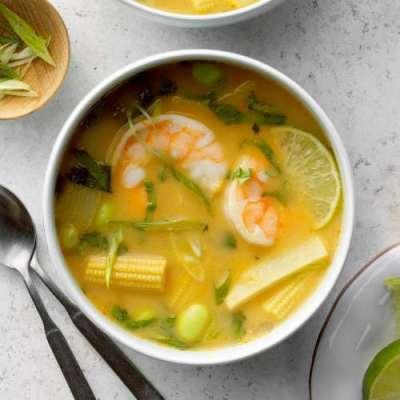 Thai Shrimp Soup Recipe In Urdu