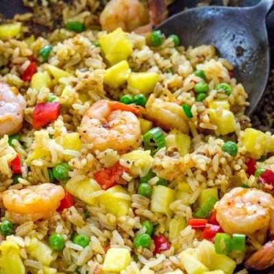 Pineapple Fried Rice Recipe In Urdu
