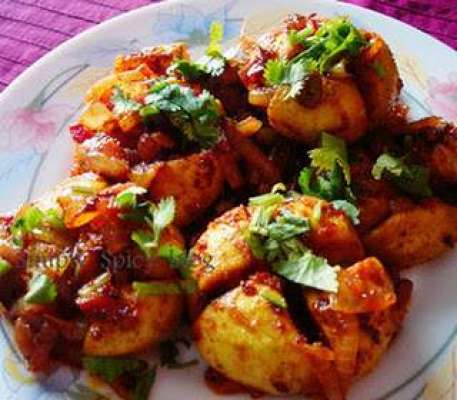 Achari Teende Recipe In Urdu