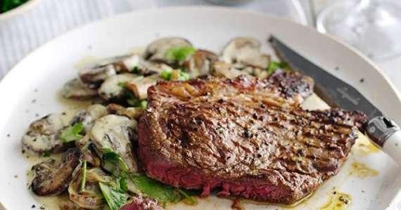 Steak With Mushroom Recipe In Urdu