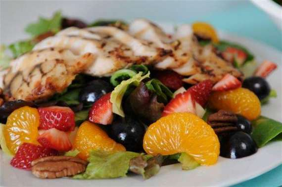 Chicken And Fruit Salad Recipe In Urdu