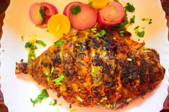 Baked Pomfret Recipe In Urdu
