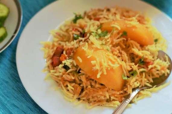 Aloo Ki Tahari Recipe In Urdu