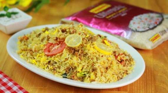 Alo Bukhara Qeema Biryani Recipe In Urdu