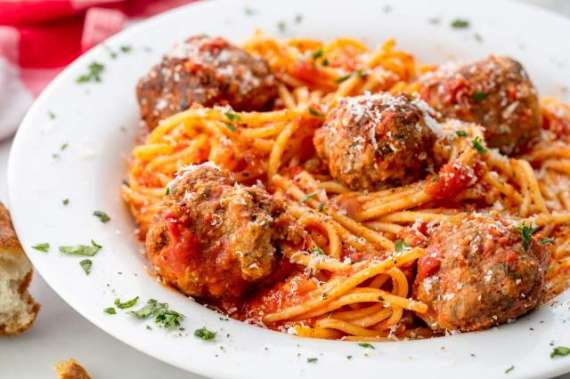 Italian Meatballs With Spaghetti Recipe In Urdu