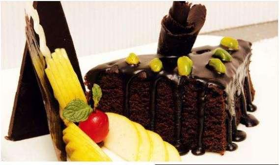 Chocolate Pista Cake Recipe In Urdu