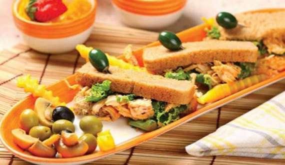 Chicken Tikka Finger Sandwich Recipe In Urdu