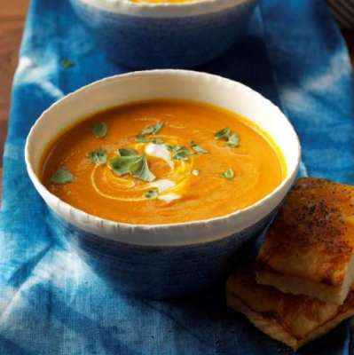 Cream Of Tomato And Carrot Soup Recipe In Urdu