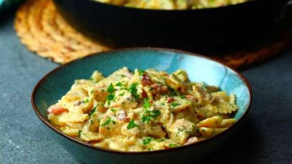 Chicken Honey Pasta Recipe In Urdu