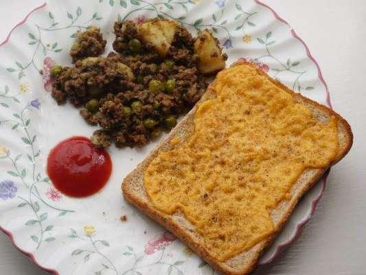 Toast Aur Keem Recipe In Urdu