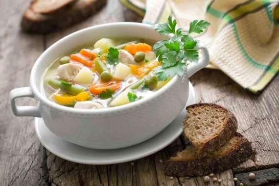 Chicken Mix Vegetable Soup Recipe In Urdu