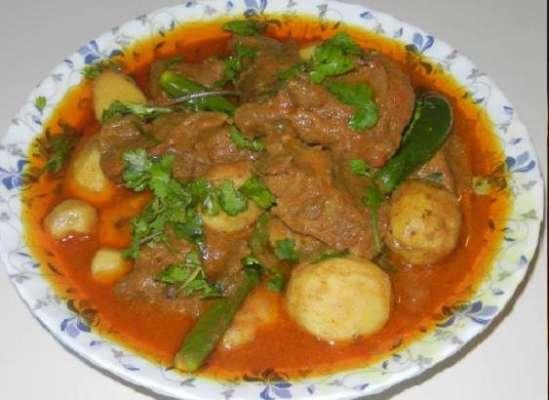 Arbi Gosht Recipe In Urdu