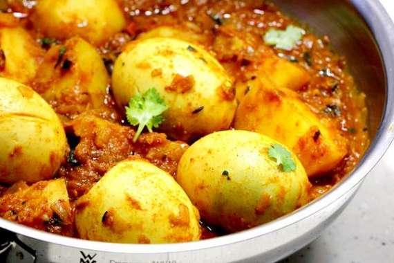 Kashmiri Anday Aloo Ka Korma Recipe In Urdu