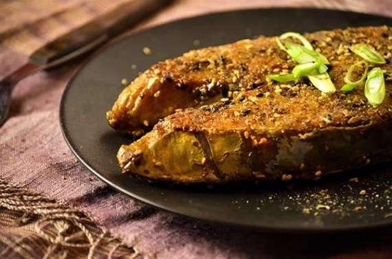 Machi Tawa Kabab Shimla Mirch Ke Sath Recipe In Urdu