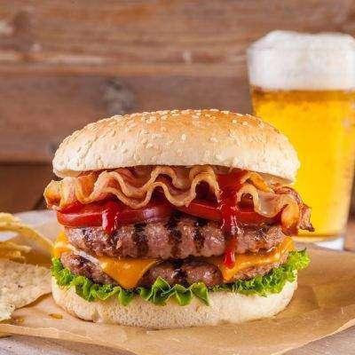 Beef Cheese Burger Recipe In Urdu
