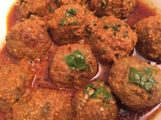 Achari Kofta Handi Recipe In Urdu