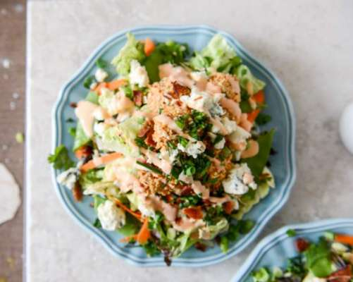 Spicy Chicken Salad Recipe In Urdu
