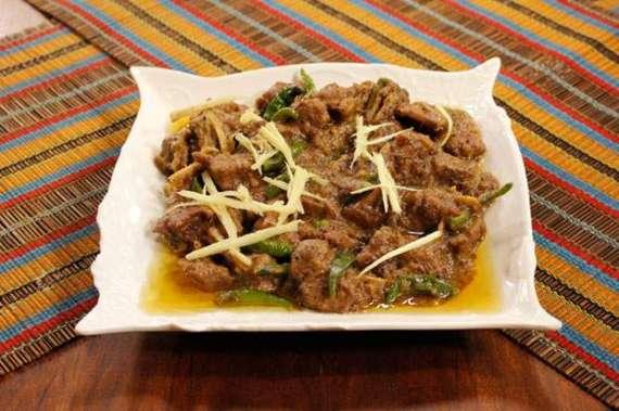 Mutton Ginger Recipe In Urdu