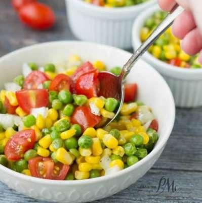 Corn And Peas Salad Recipe In Urdu