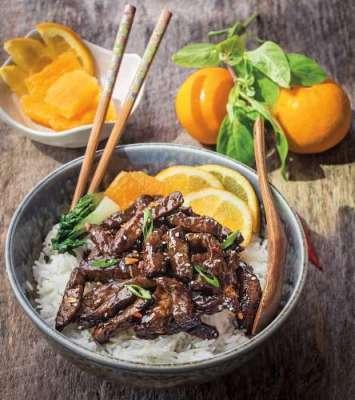 Orange Beef Chilli Recipe In Urdu