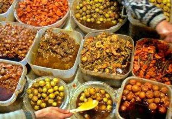 Easy Pachranga Achar Recipe In Urdu