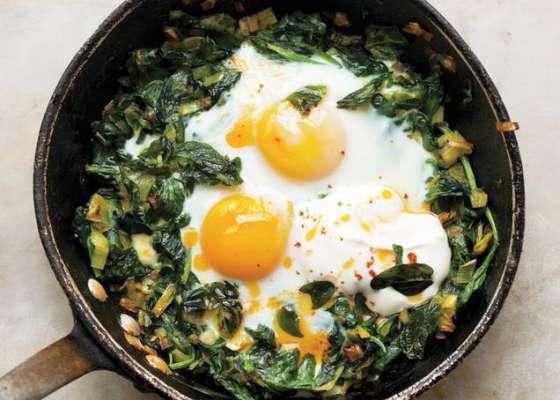 Egg Palak Ka Bharta Recipe In Urdu