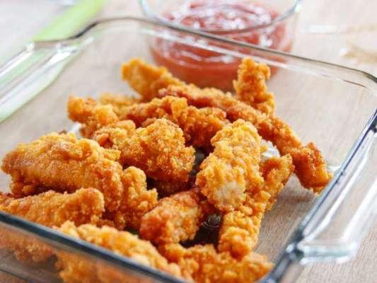 Crunchy Chicken Finger Recipe In Urdu