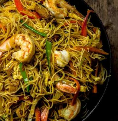 Singapore Noodles Recipe In Urdu