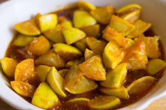 Nimbu Ka Meetha Achar Recipe In Urdu