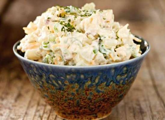 Potato And Macaroni Salad Recipe In Urdu