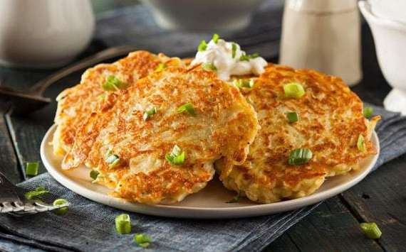 Chicken Aur Aloo Ke Pancakes Recipe In Urdu