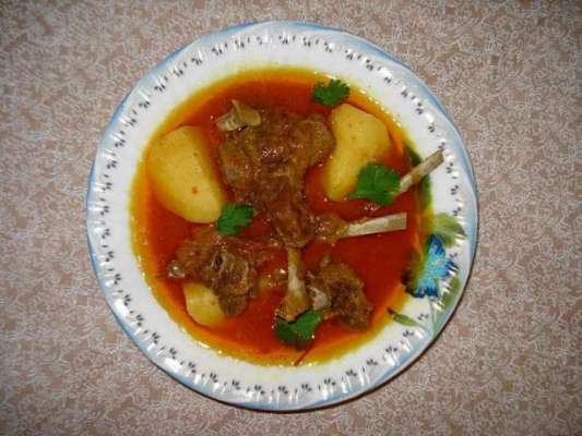 Aloo Gosht Ka Shorba Recipe In Urdu